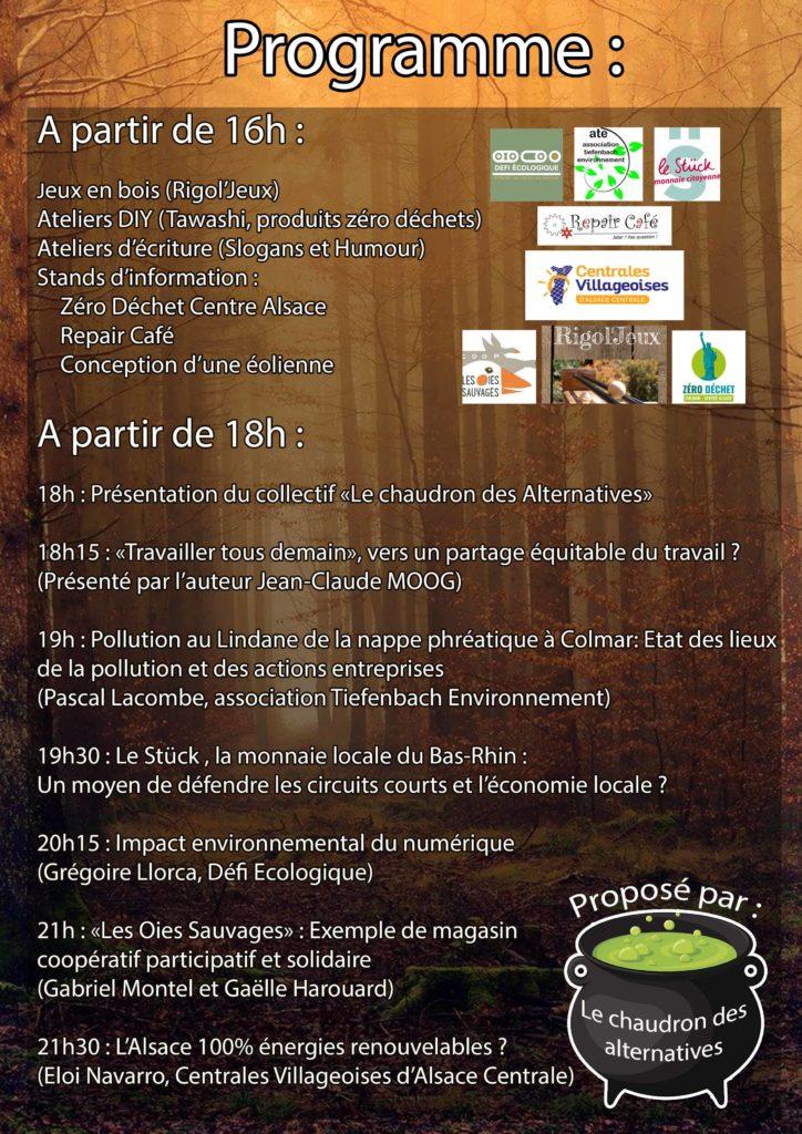 Programme 21 fevrier